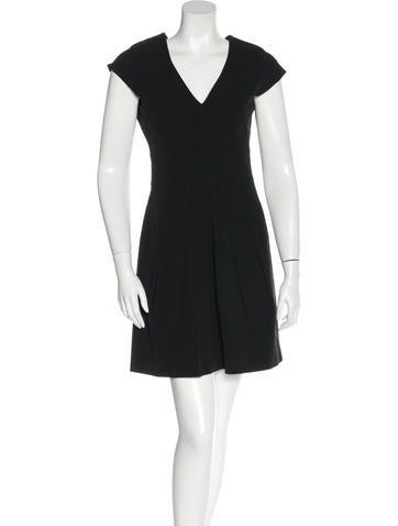 Zac Posen Pleated Mini Dress