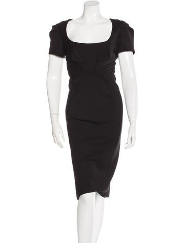 Zac Posen Short Sleeve Sheath Dress w/ Tags