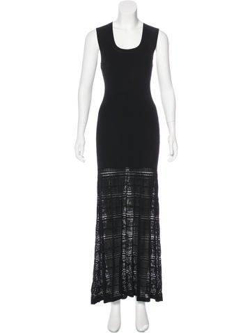 Zac Posen Rib Knit Maxi Dress w/ Tags None
