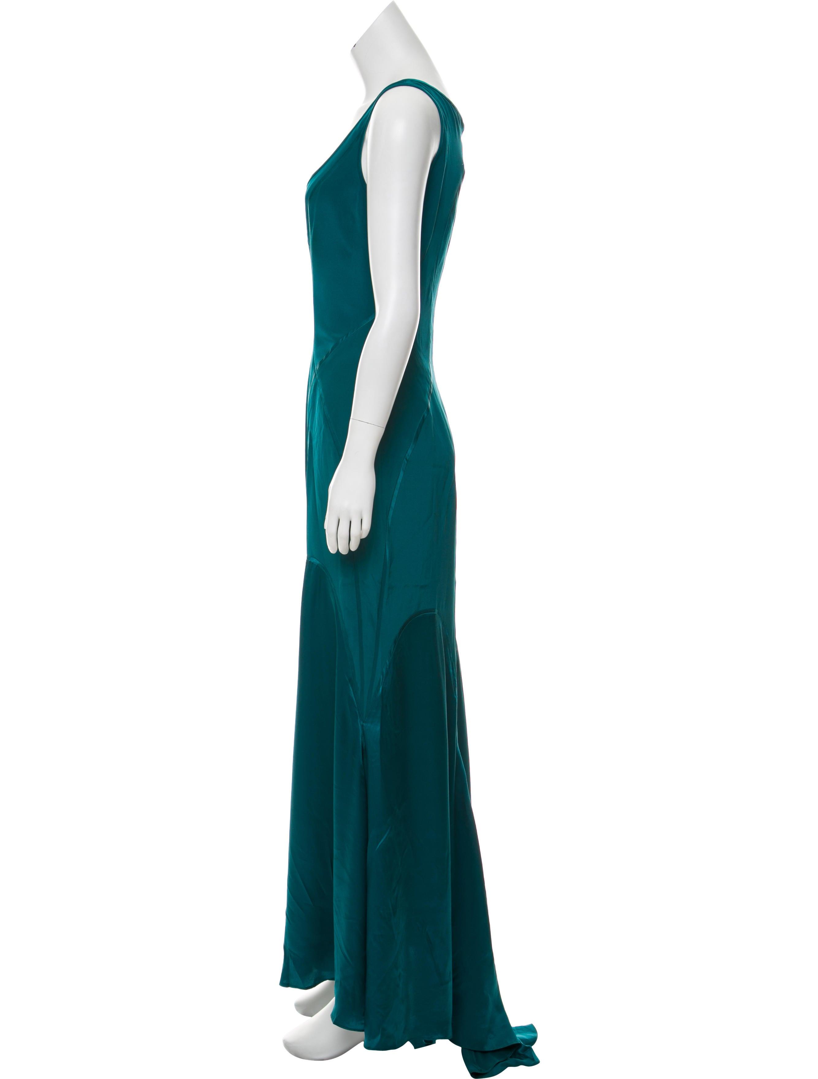 Zac Posen Silk Evening Dress - Clothing - ZAC27332   The RealReal