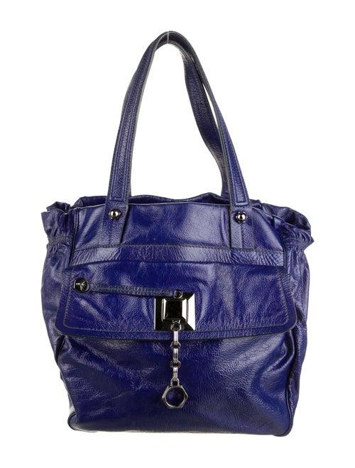 Zac Posen Leather Shoulder Bag black