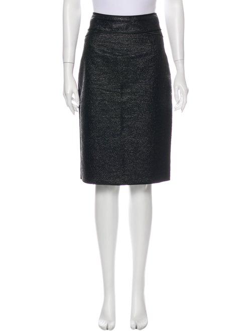 Zac Posen Knee-Length Skirt Blue