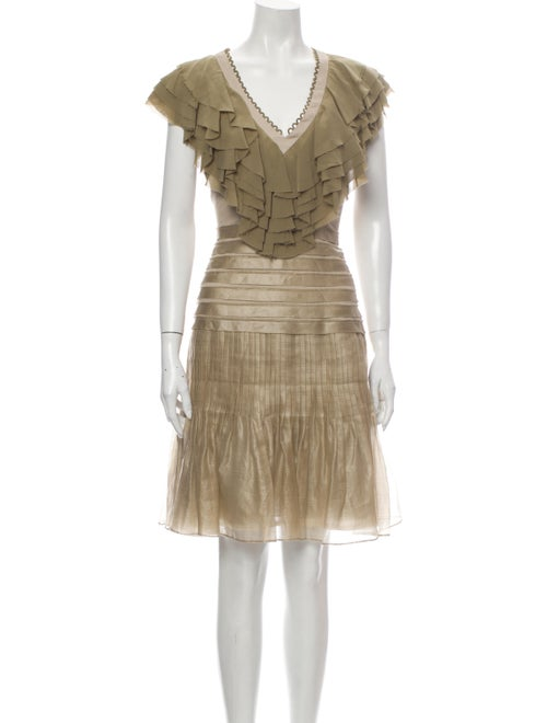 Zac Posen Silk Knee-Length Dress