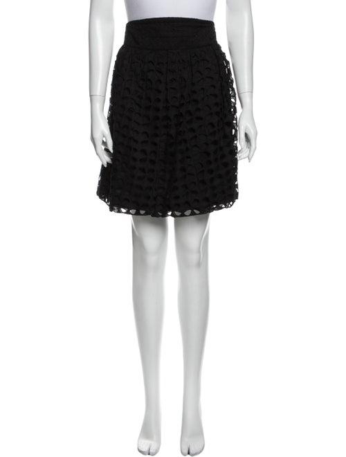 Zac Posen Knee-Length Skirt Black