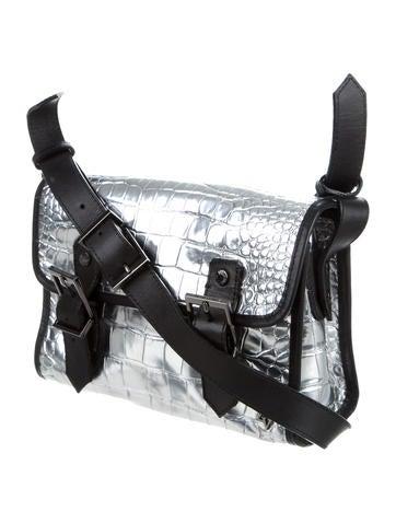 Embossed Crossbody Bag