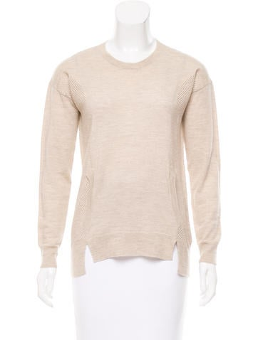 Zadig & Voltaire Merino Wool Open Knit Sweater None