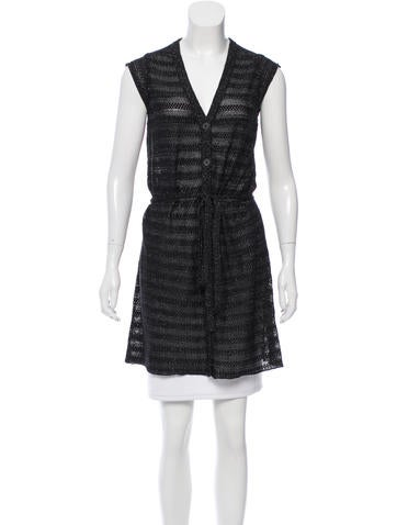 Zadig & Voltaire Sleeveless Knit Tunic None