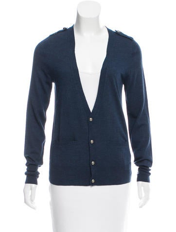 Zadig & Voltaire Wool Button-Up Cardigan None