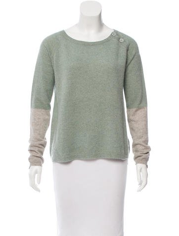 Zadig & Voltaire Cashmere Colorblock Sweater None