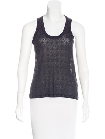 Zadig & Voltaire Sleeveless Printed Top None