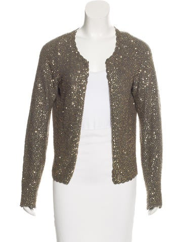 Zadig & Voltaire Embellished Knit Cardigan None