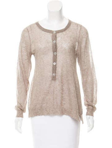 Zadig & Voltaire Long Sleeve Knit Top None