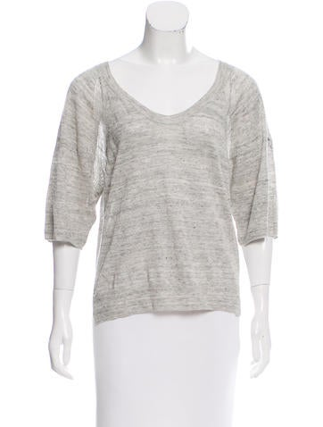 Zadig & Voltaire Embellished Knit Top None