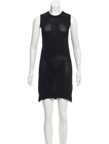Zadig & Voltaire Open Knit Mini Dress None