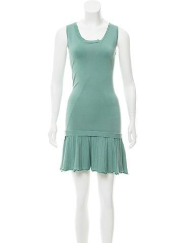 Zadig & Voltaire Silk Knit Mini Dress None