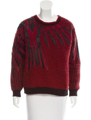 Zadig & Voltaire Oversize Rib Knit Sweater None