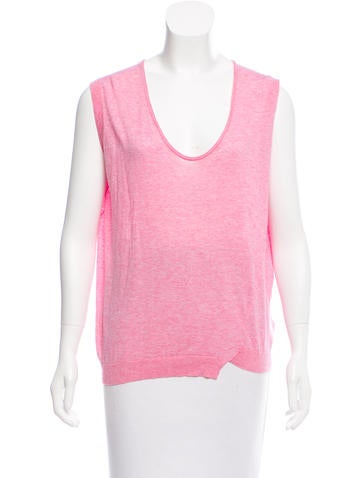 Zadig & Voltaire Knit Sleeveless Top None
