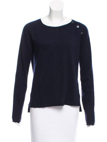 Zadig & Voltaire Scoop Neck Wool Sweater None