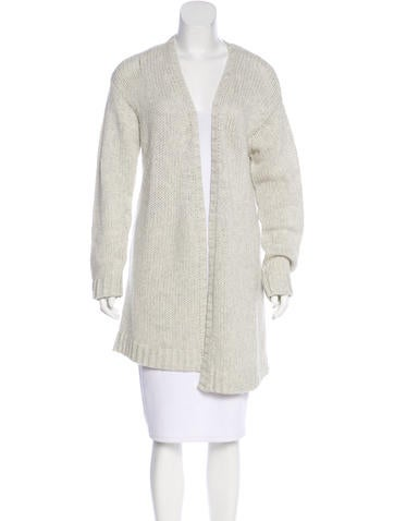 Zadig & Voltaire Cashmere Open Front Cardigan None