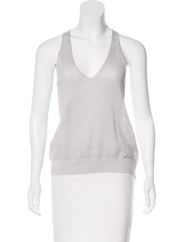 Zadig & Voltaire Sleeveless Knit Top None