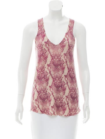 Zadig & Voltaire Cashmere Sleeveless Top None