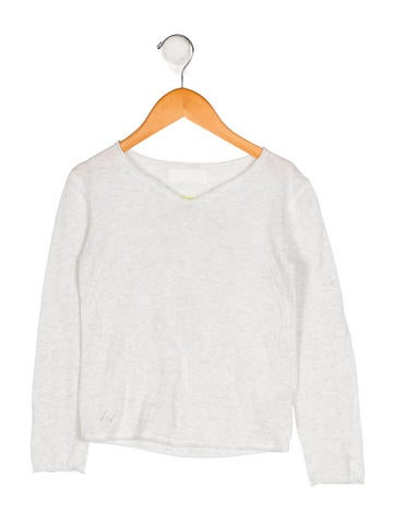 Zadig & Voltaire Girls' Knit Long Sleeve Top None