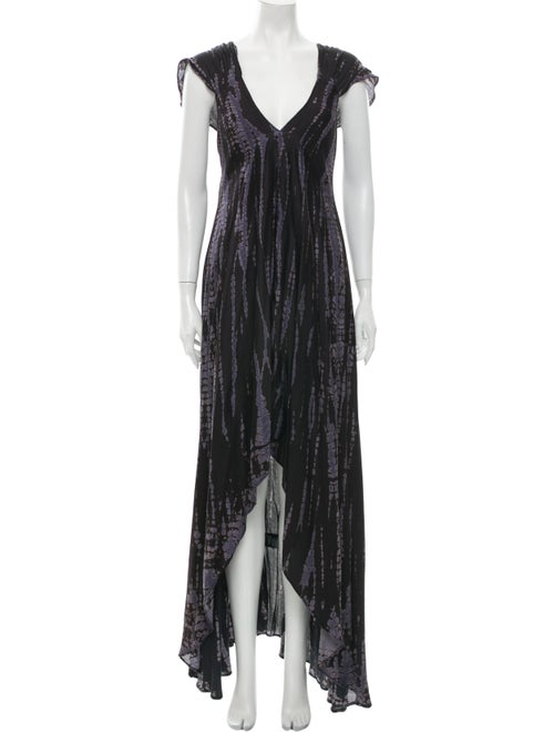 Zadig & Voltaire Printed Long Dress
