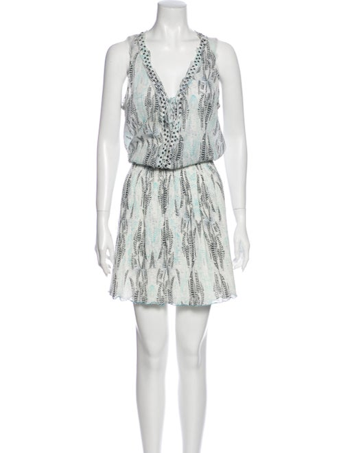 Zadig & Voltaire Printed Knee-Length Dress White