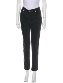 Zadig & Voltaire Mid-Rise Straight Leg Jeans