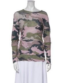 Zadig & Voltaire Linen Printed Sweatshirt