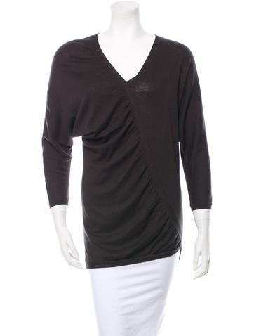 Zero + Maria Cornejo Silk Knit Top None