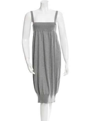 Zero + Maria Cornejo Knit Midi Dress None