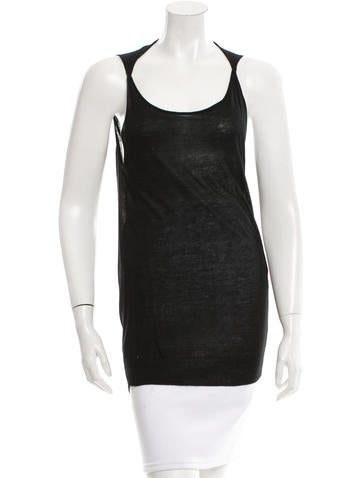 Zero + Maria Cornejo Sleeveless Knit Top None