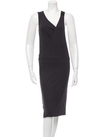 Zero + Maria Cornejo Sleeveless Jersey Dress None