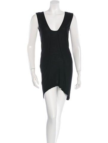 Zero + Maria Cornejo Knit High-Low Dress None