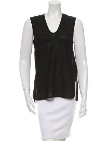 Zero + Maria Cornejo Scoop Neck Sleeveless Top w/ Tags None