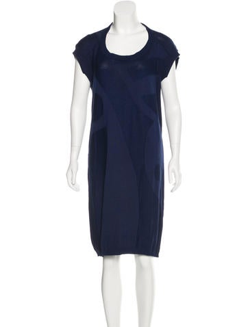 Zero + Maria Cornejo Short Sleeve Sweater Dress None