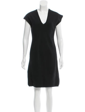 Zero + Maria Cornejo Cap Sleeve Sweater Dress None
