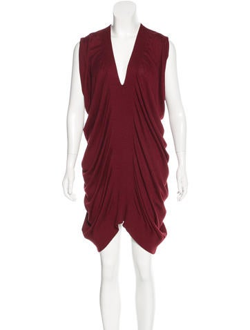 Zero + Maria Cornejo Silk-Blend Knit Dress None
