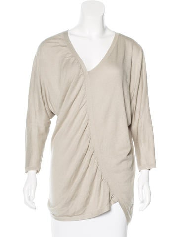 Zero + Maria Cornejo Silk Asymmetrical Top None