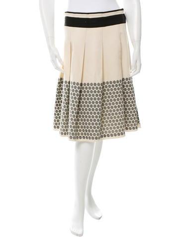 Zero + Maria Cornejo A-Line Midi Skirt None