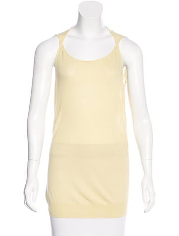 Zero + Maria Cornejo Knit Sleeveless Top None