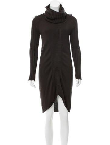 Zero + Maria Cornejo Silk Sweater Dress None