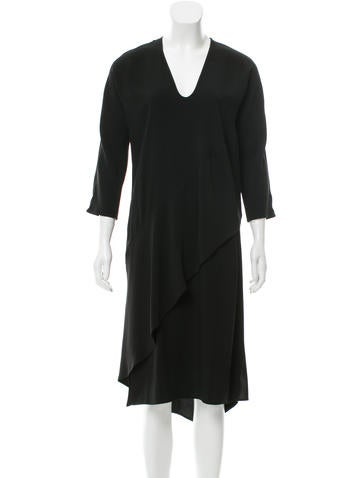 Zero + Maria Cornejo Asymmetrical Midi Dress w/ Tags None
