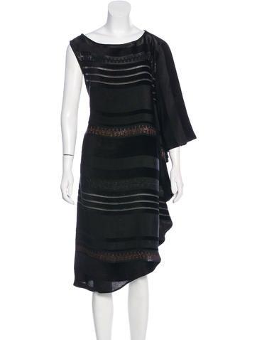 Zero + Maria Cornejo Textured Sleeveless Dress None