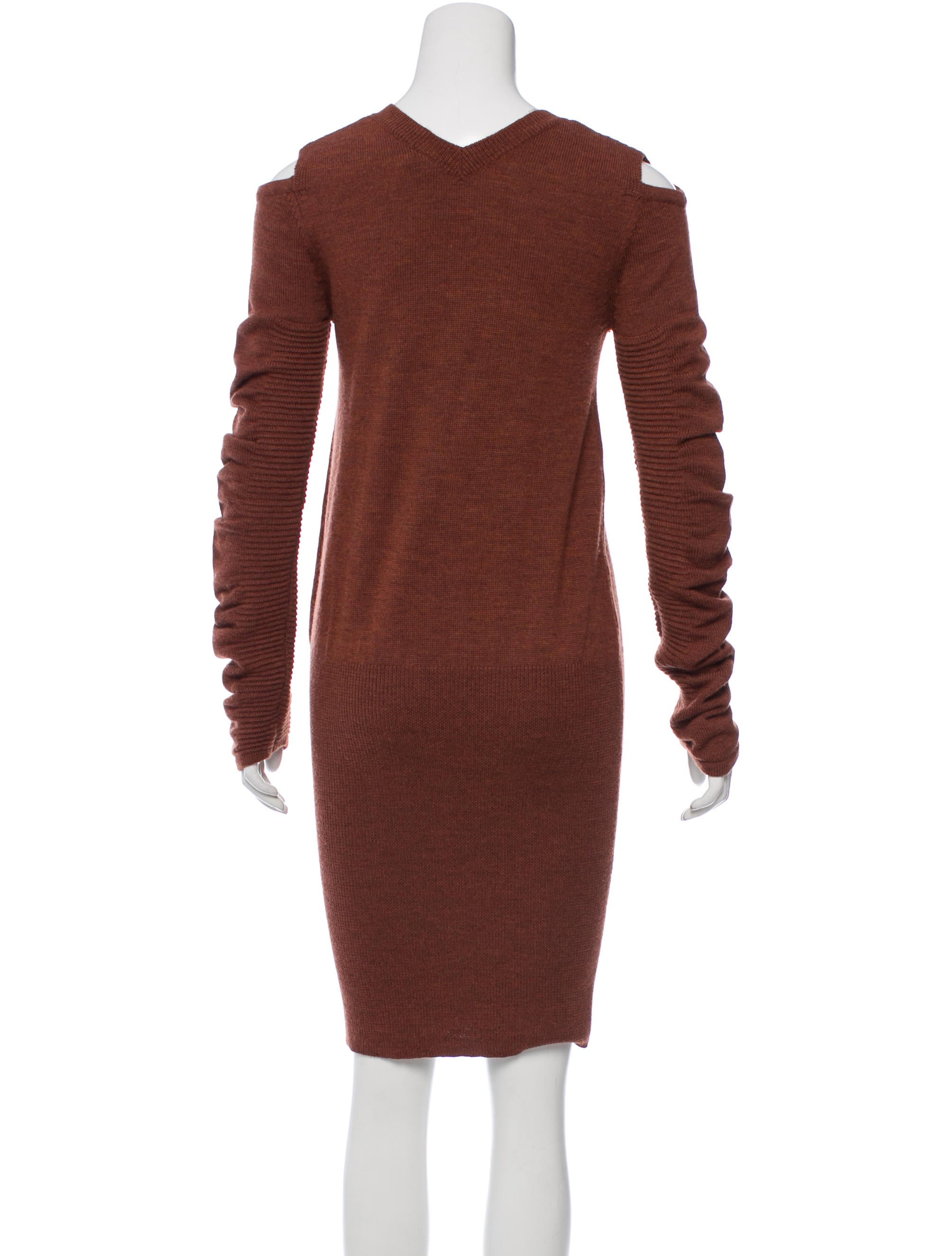 Zero + Maria Cornejo Wool Sweater Dress - Clothing - ZER23711 | The RealReal