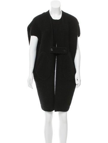 Zero + Maria Cornejo Wool Oversize Cardigan None