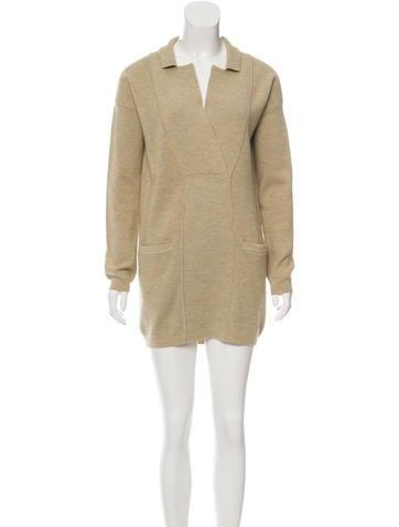 Zero + Maria Cornejo Lee Wool Dress None
