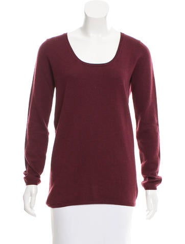 Zero + Maria Cornejo Merino Wool Scoop Neck Sweater None