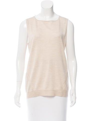 Zero + Maria Cornejo Sleeveless Wool & Silk Blend Top w/ Tags None